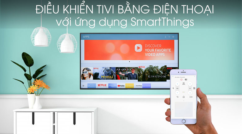 Smart Tivi Samsung 4K 43 inch UA43RU7200 - SmartThings