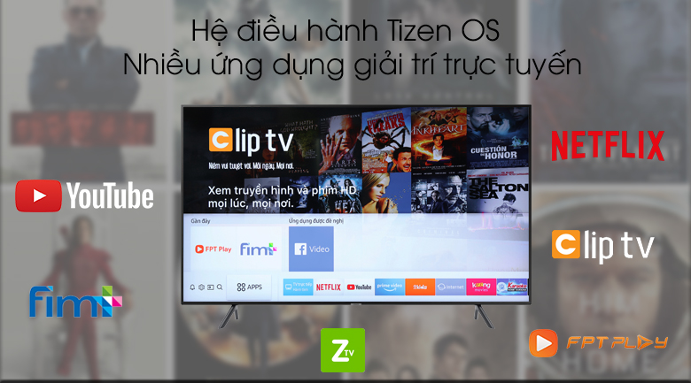 Smart Tivi Samsung 4K 43 inch UA43RU7200 - Tizen OS