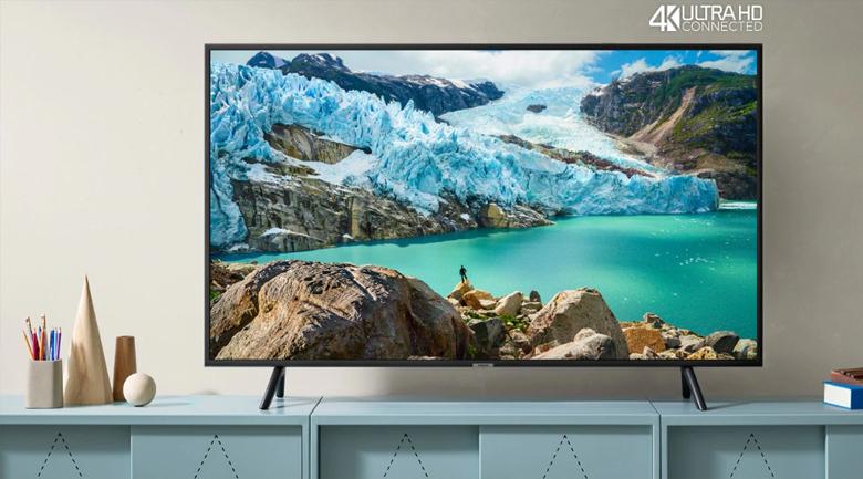 Smart Tivi Samsung 4K 55 inch UA55RU7200 - Thiết kế