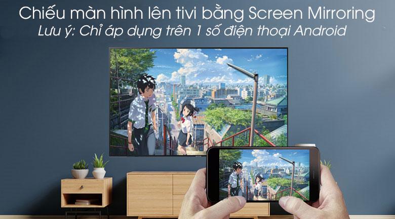 Smart Tivi Samsung 4K 55 inch UA55RU7200 - Screen Mirroring