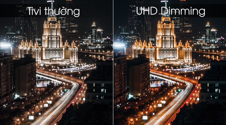 Smart Tivi Samsung 4K 55 inch UA55RU7200 - UHD Dimming