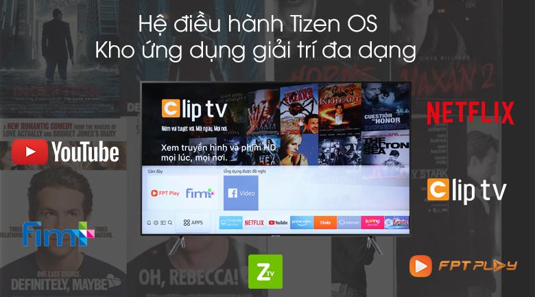 Smart Tivi Samsung 4K 55 inch UA55RU7200 - Tizen OS