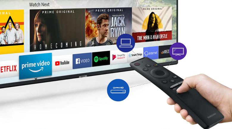 Smart Tivi Samsung 4K 43 inch UA43RU7400 - One Remote