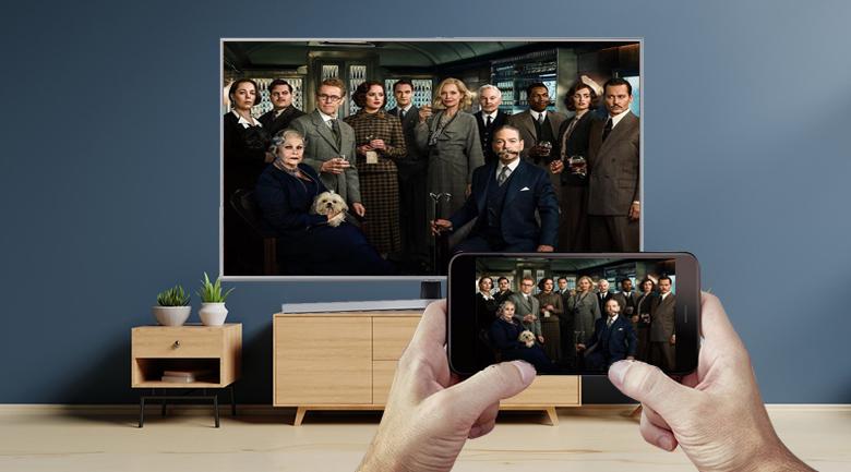 Smart Tivi Samsung 4K 43 inch UA43RU7400 - Screen Mirroring