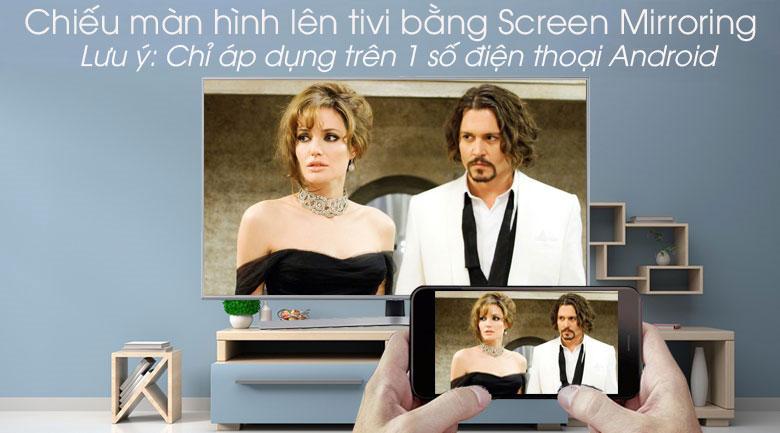 Smart Tivi Samsung 4K 50 inch UA50RU7400 - Screen Mirroring
