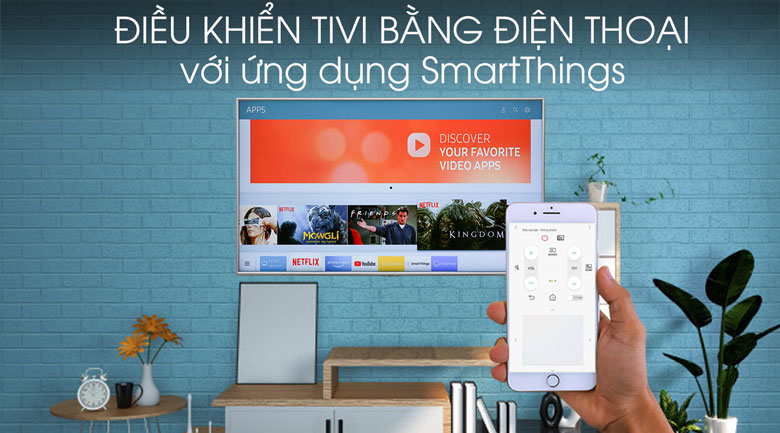 Smart Tivi Samsung 4K 50 inch UA50RU7400 - SmartThings