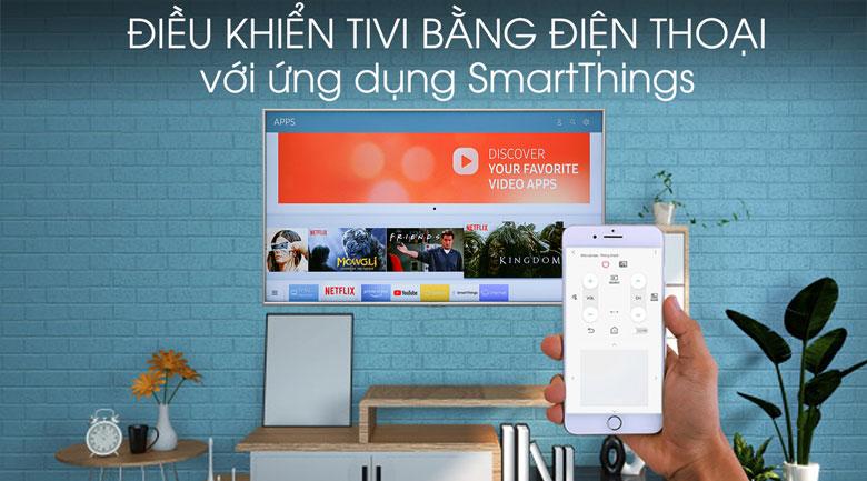 Smart Tivi Samsung 4K 50 inch UA50RU7400 - SmartThings