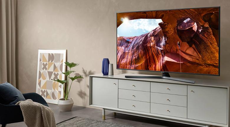 Smart Tivi Samsung 4K 50 inch UA50RU7400 - Thiết kế