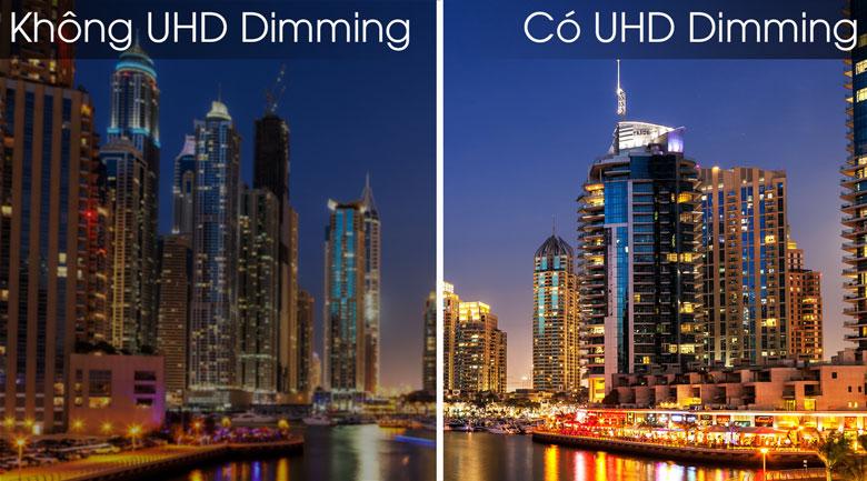 Smart Tivi Samsung 4K 55 inch UA55RU7400 - UHD Dimming