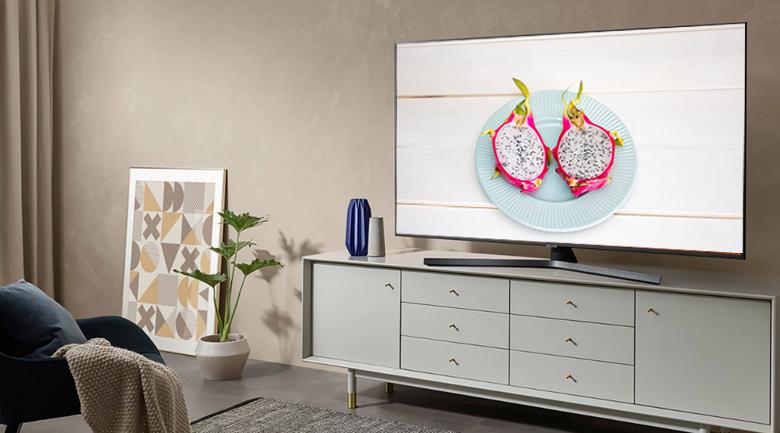 Smart Tivi Samsung 4K 55 inch UA55RU7400 - Thiết kế