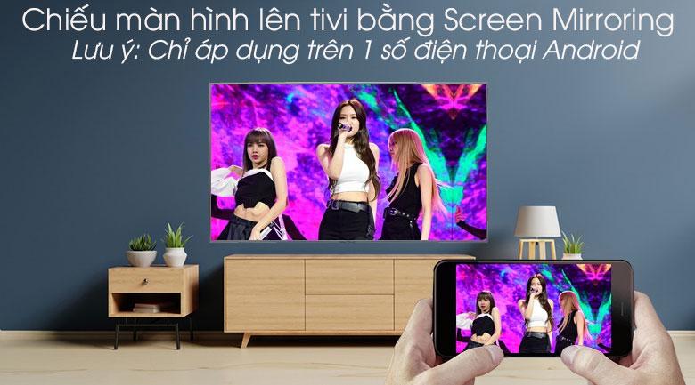 Smart Tivi Samsung 4K 65 inch UA65RU7400 - Screen Mirroring
