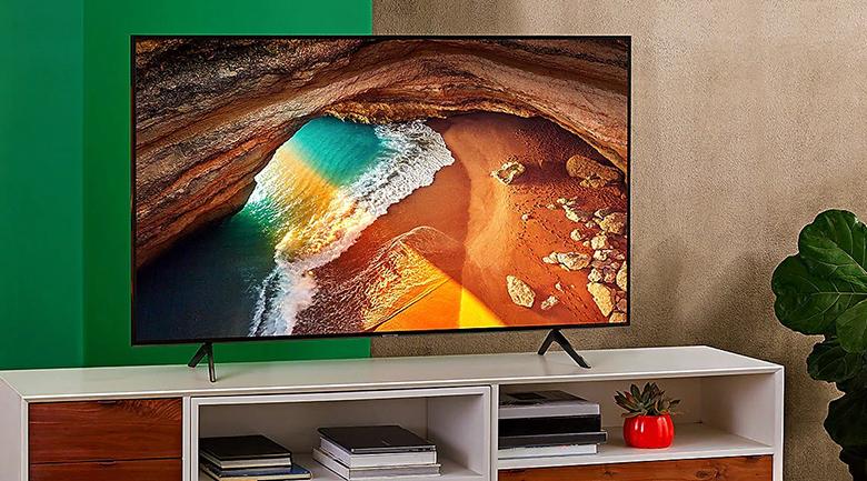 Smart Tivi QLED Samsung 4K 43 inch QA43Q65R - thiết kế