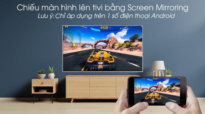 Smart Tivi QLED Samsung 4K 43 inch QA43Q65R - Chiếu màn hình