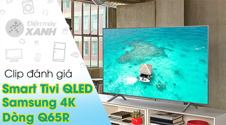 Smart Tivi QLED Samsung 4K 55 inch QA55Q65R