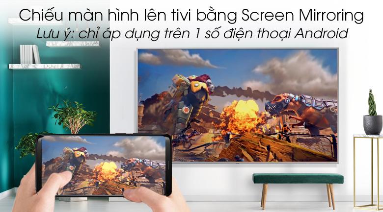 Smart Tivi QLED Samsung 4K 65 inch QA65Q65R - Screen Mirroring