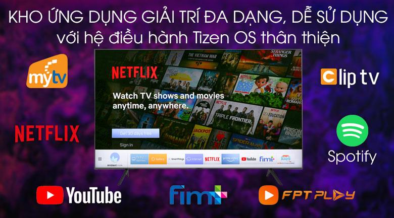 Smart Tivi QLED Samsung 4K 65 inch QA65Q65R - Tizen OS