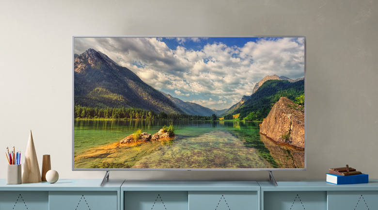 Smart Tivi QLED Samsung 4K 65 inch QA65Q65R - Thiết kế