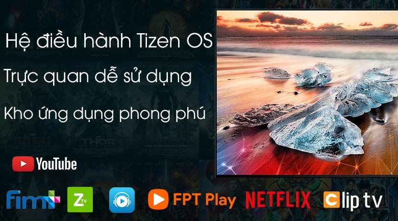 Smart Tivi QLED Samsung 4K 75 inch QA75Q65R - hệ điều hành