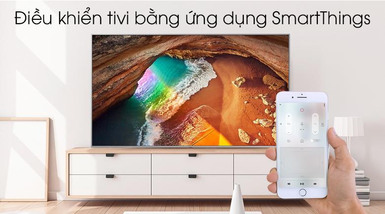 Smart Tivi QLED Samsung 4K 82 inch QA82Q65R - SmartThings