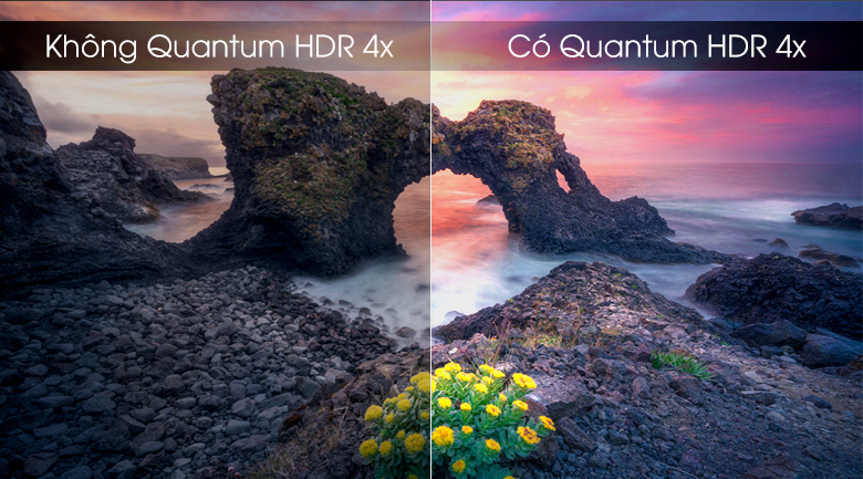 Smart Tivi QLED Samsung 4K 82 inch QA82Q65R - Quantum HDR 4x