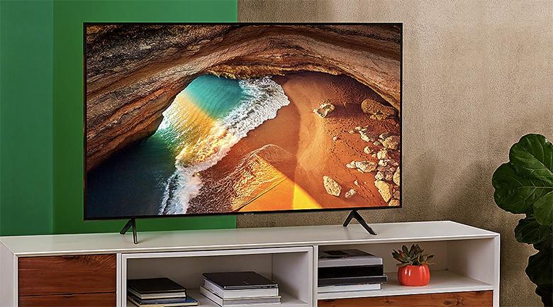 Smart Tivi QLED Samsung 4K 82 inch QA82Q65R - thiết kế