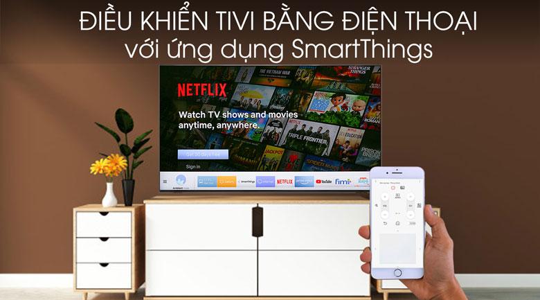 Smart Tivi QLED Samsung 8K 75 inch QA75Q900R - SmartThings