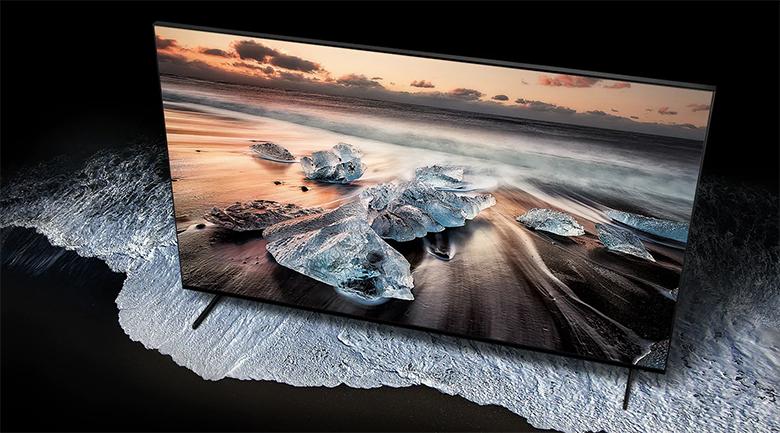 Smart Tivi QLED Samsung 8K 82 inch QA82Q900R - thiết kế hiện đại