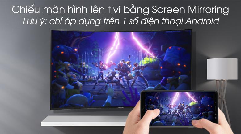Smart tivi Samsung 4K 49 inch UA49RU7300 - Screen Mirroring