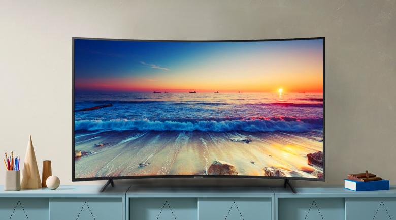 Smart tivi Samsung 4K 49 inch UA49RU7300 - Thiết kế