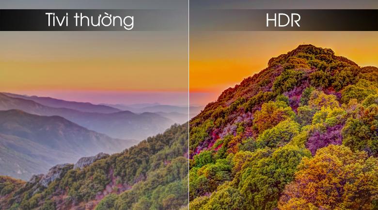 Smart tivi Samsung 4K 49 inch UA49RU7300 - HDR