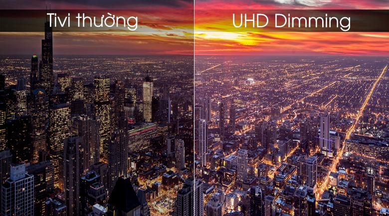 Smart tivi Samsung 4K 55 inch UA55RU7300 - UHD Dimming