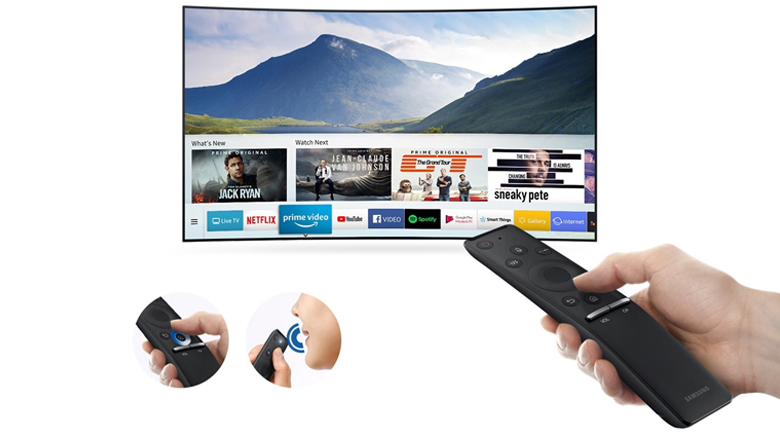 Smart tivi Samsung 4K 55 inch UA55RU7300 - One Remote