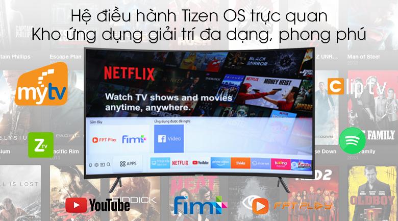 Smart tivi QLED Samsung 4K 65 inch UA65RU7300 - Tizen OS