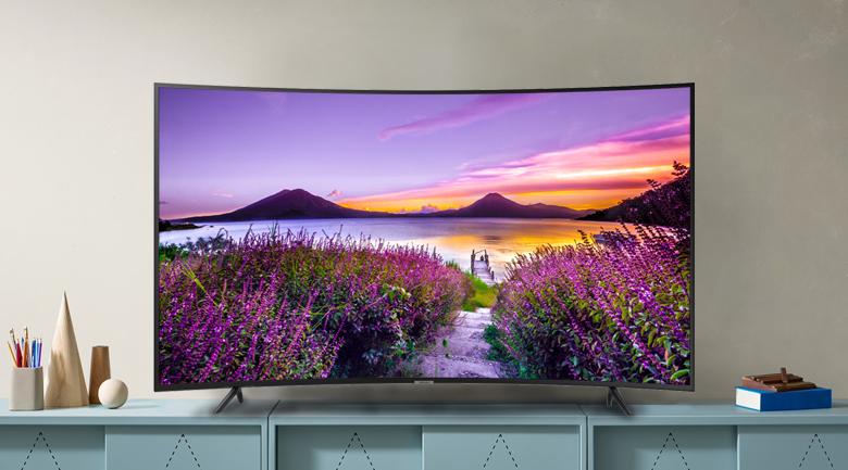 Smart tivi QLED Samsung 4K 65 inch UA65RU7300 - Thiết kế