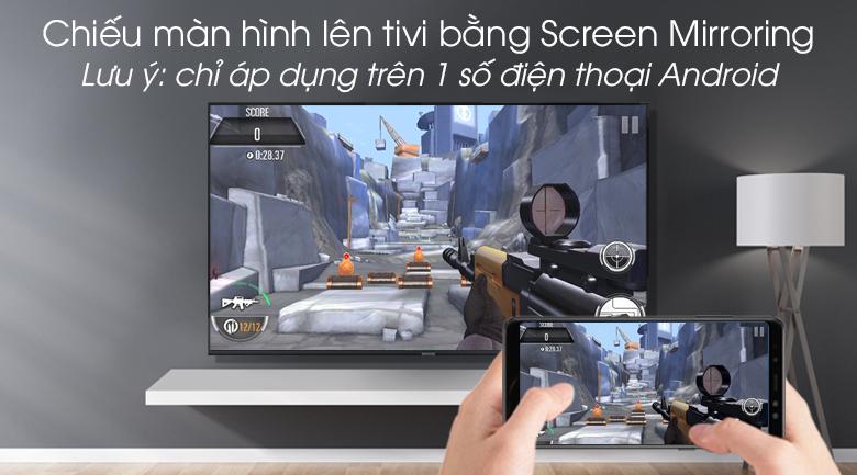 Smart Tivi Samsung 4K 49 inch UA49RU8000 - Tính năng Screen Mirroring