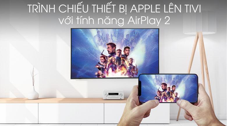 Smart Tivi Samsung 4K 49 inch UA49RU8000 - Tính năng AirPlay 2