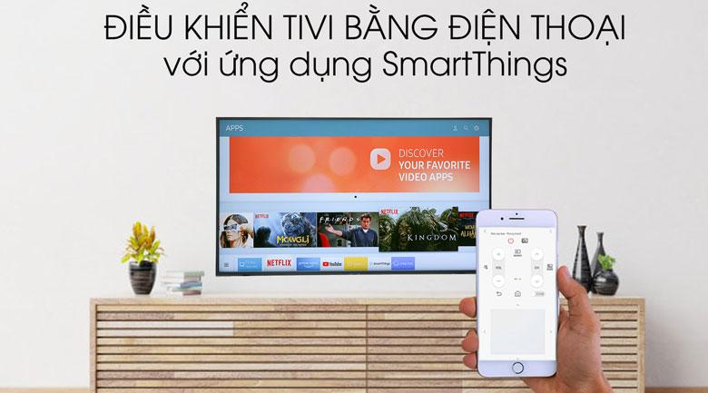 Smart Tivi Samsung 4K 49 inch UA49RU8000 - Ứng dụng SmartThings