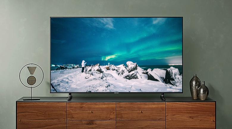 Smart Tivi Samsung 4K 49 inch UA49RU8000 - Thiết kế
