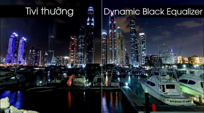Smart tivi Samsung 4K 55 inch UA55RU8000 - Công nghệ Dynamic Black Equalizer