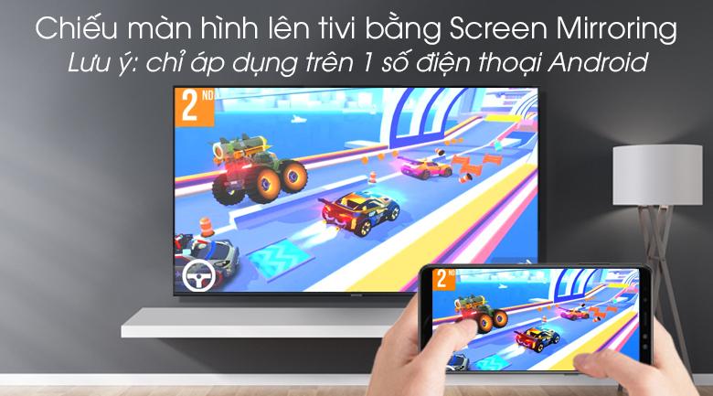 Smart tivi Samsung 4K 55 inch UA55RU8000 - Tính năng Screen Mirroring