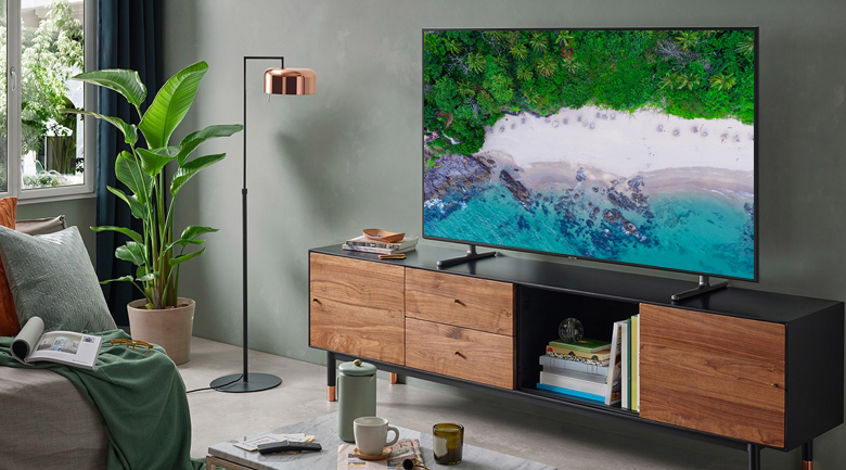 Smart tivi Samsung 4K 55 inch UA55RU8000 - Thiết kế