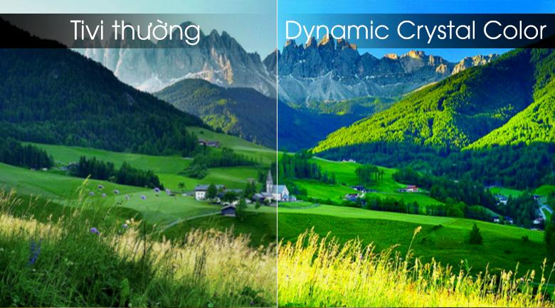 Smart tivi Samsung 4K 55 inch UA55RU8000 - Công nghệ Dynamic Crystal Color