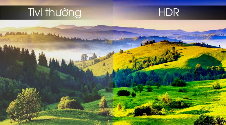 Smart tivi Samsung 4K 55 inch UA55RU8000 - Công nghệ HDR