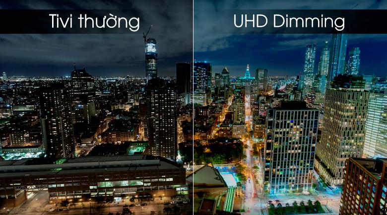 Smart tivi Samsung 4K 55 inch UA55RU8000 - Công nghệ UHD Dimming
