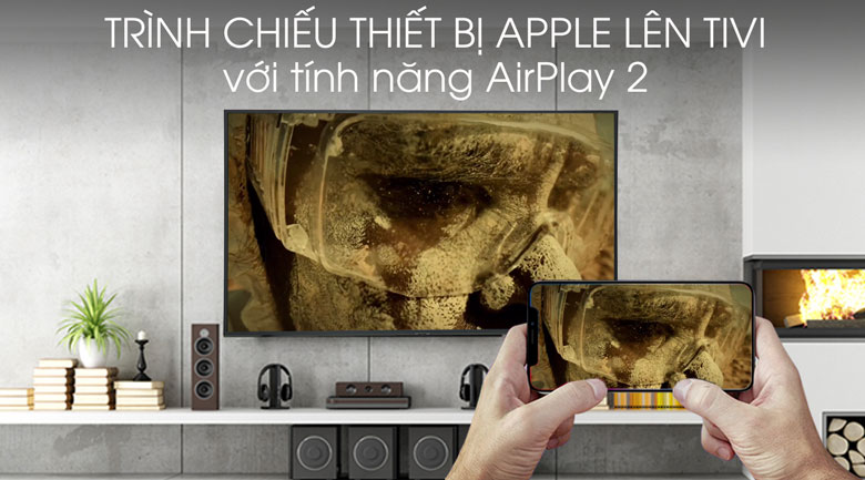 Smart Tivi Samsung 4K 65 inch UA65RU8000 - AirPlay 2