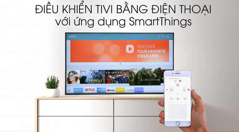 Smart Tivi Samsung 4K 65 inch UA65RU8000 - điều khiển tivi