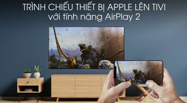 Smart tivi Tivi QLED Samsung 4K 49 inch QA49Q75R - AirPlay 2