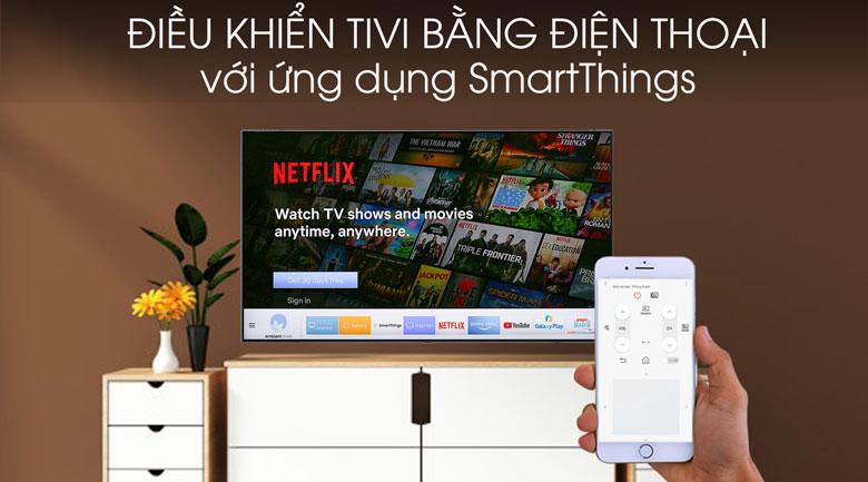 Smart tivi Tivi QLED Samsung 4K 49 inch QA49Q75R - SmartThings