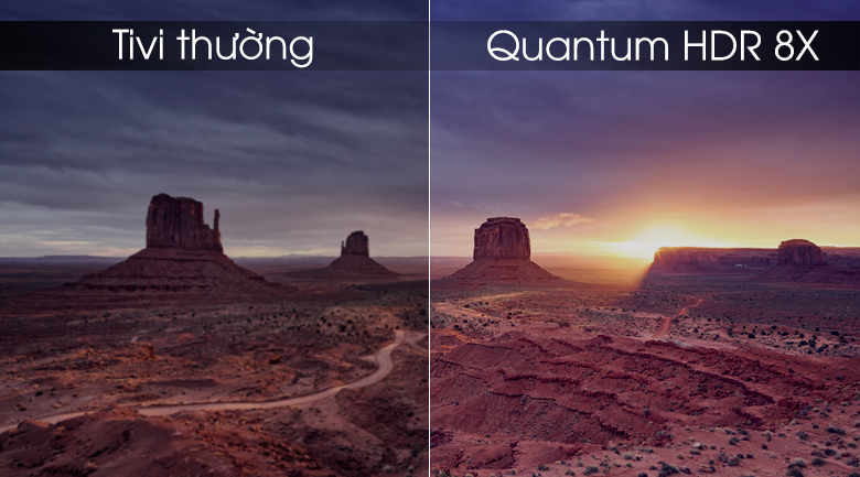 Smart tivi Tivi QLED Samsung 4K 49 inch QA49Q75R - Quantum HDR 8X