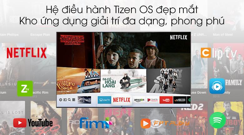Smart Tivi QLED Samsung 4k 55 inch QA55Q75R - Tizen OS